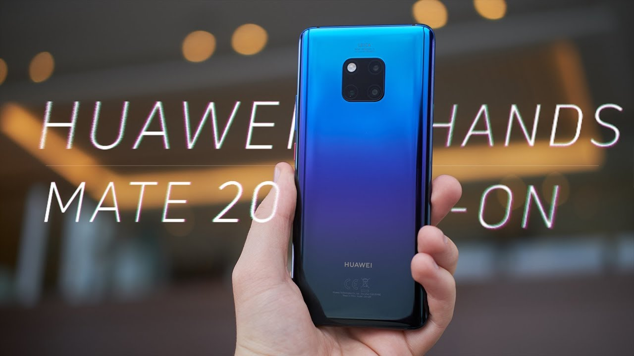Huawei Mate 20 Pro and Huawei Mate 20: Specs, release date, price
