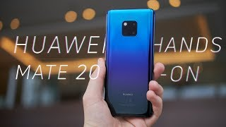 Huawei Mate 20 Pro / Mate 20 Hands-on: Cameras, Cubed