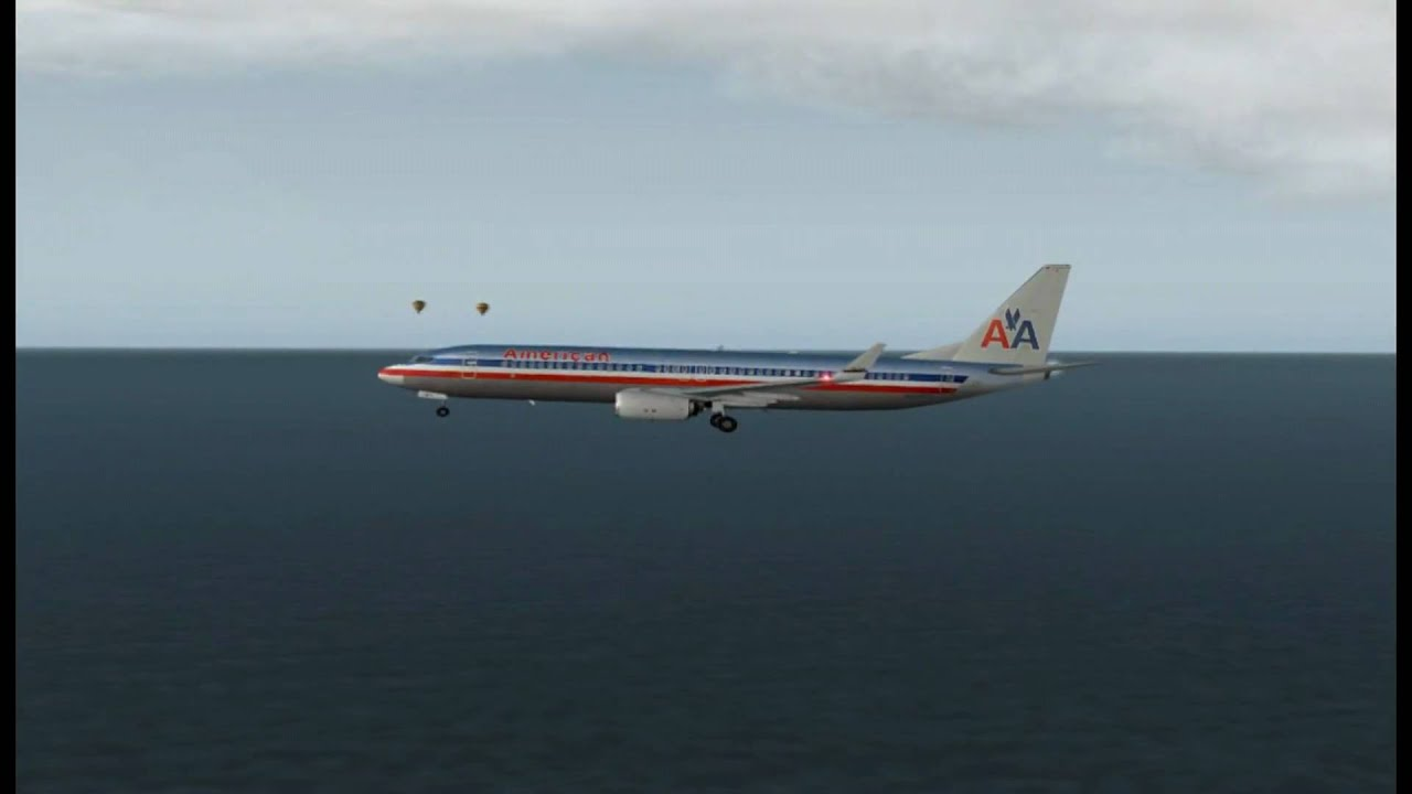 Hd American Airlines Boeing 737 800 Landing Youtube
