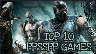Top PSP And PPSSPP Games ( 2018 - 2019 )