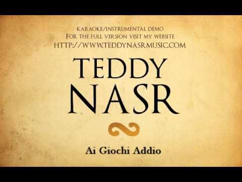 Instrumental / Karaoke - Ai Giochi Addio / What is a Youth ( Teddy NASR )