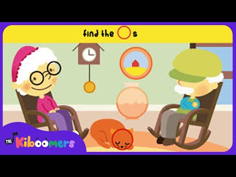 Here are Grandma's Glasses | Kids Song and Fingerplay | Kids Game | The Kiboomers