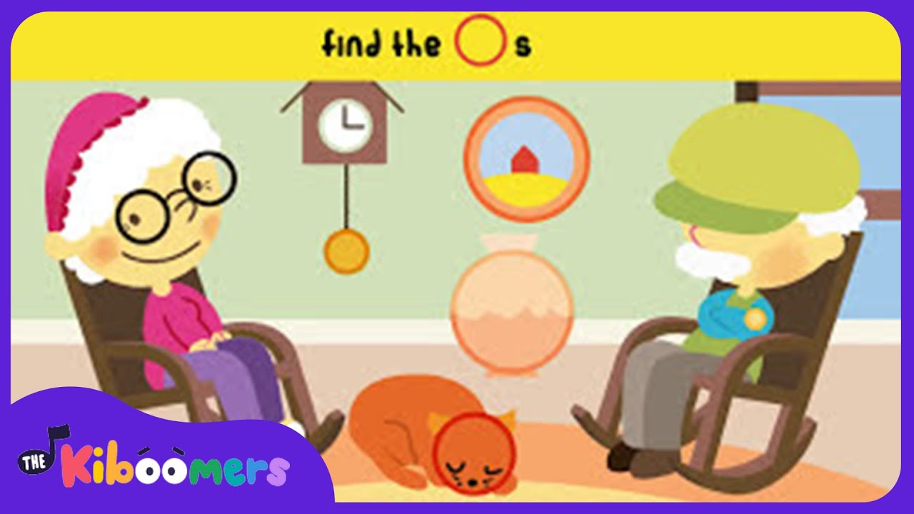 Here Are Grandma\'s Glasses | Kids Song and Fingerplay | The ...