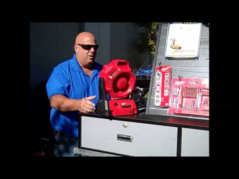 Milwaukee Cordless Fan