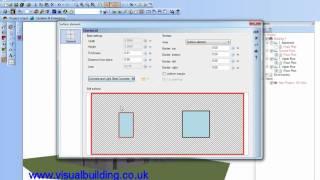 Visual Building: 2d/3d Surface Area Edit
