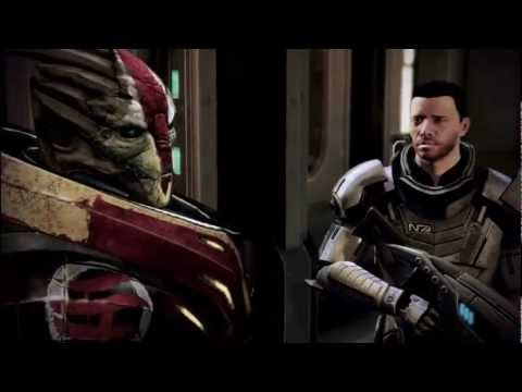 Mass Effect 3: Omega - All of Nyreen's Cutscenes (Female Turian)