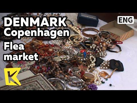 【K】Denmark Travel-Copenhagen[덴마크 여행-코펜하겐]골동품 판매, 벼룩시장/Flea market/Antique/Painting