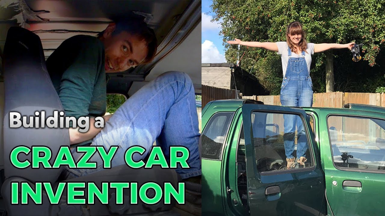 Building a Crazy Car Invention | Kids Invent Stuff - YouTube