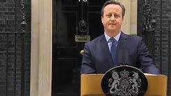David Cameron announces EU referendum date