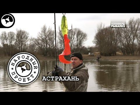 Ни лёд, ни вода. Судак и щука на джиг. Рыбалка в Астрахани | Народный проект