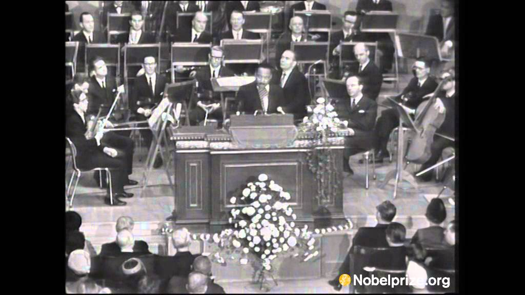 Martin Luther King Jr Nobel Peace Prize Acceptance Speech Youtube