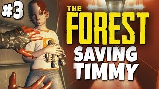 The Forest Season 2 - Saving Timmy Ending - Part 3