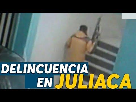 Juliaca, la ciudad con mayor delincuencia en el Perú