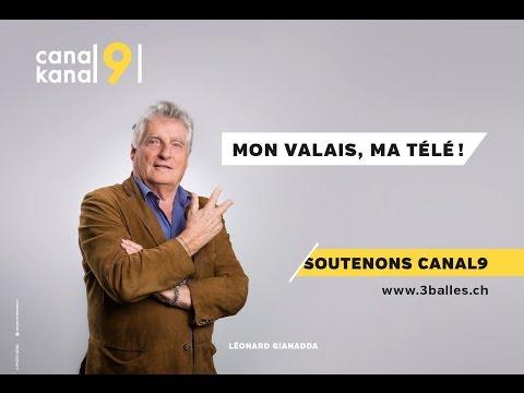 MON VALAIS, MA TÉLÉ: SOUTENONS CANAL9!