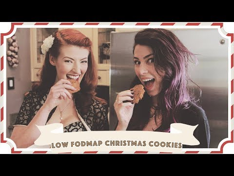Baking with Jessica and Stevie Boebi // Low FODMAP Christmas Cookies [CC]