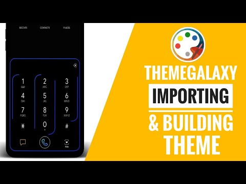 ThemeGalaxy : Importing Project & Building Samsung Theme Tutorial 2018!