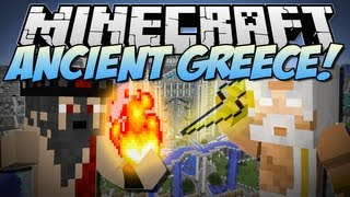 Minecraft | ANCIENT GREECE! (Battle with the Gods!) | Mod Showcase [1.6.2]