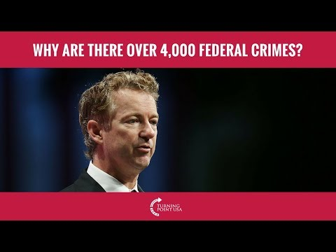 Why Are There Over 4,000 Federal Crimes?