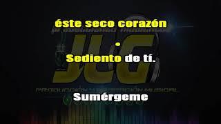 SUMERGEME -Karaoke version Cumbia- Arreglo por JLG