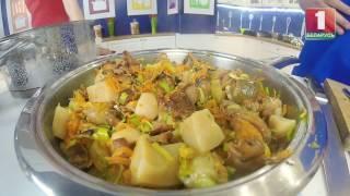 Готовим грибной суп и грибной салат. Вкусно маринуем шампиньоны.