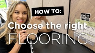 How To: Choose the right flooring for your home