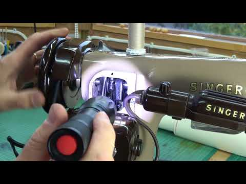 Reviving a Sewing Machine Singer 201K