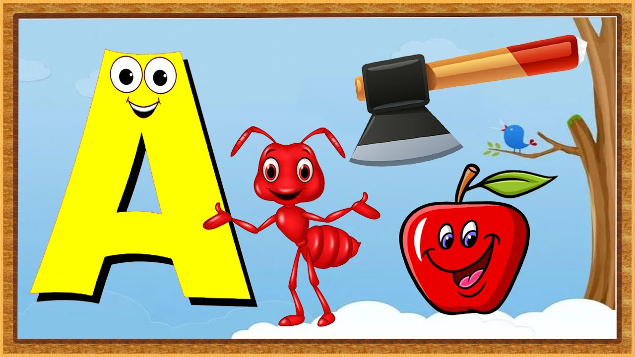 Kids Learning | Words From Letter A | Words Start With Letter A | Kids Vocabulary Words