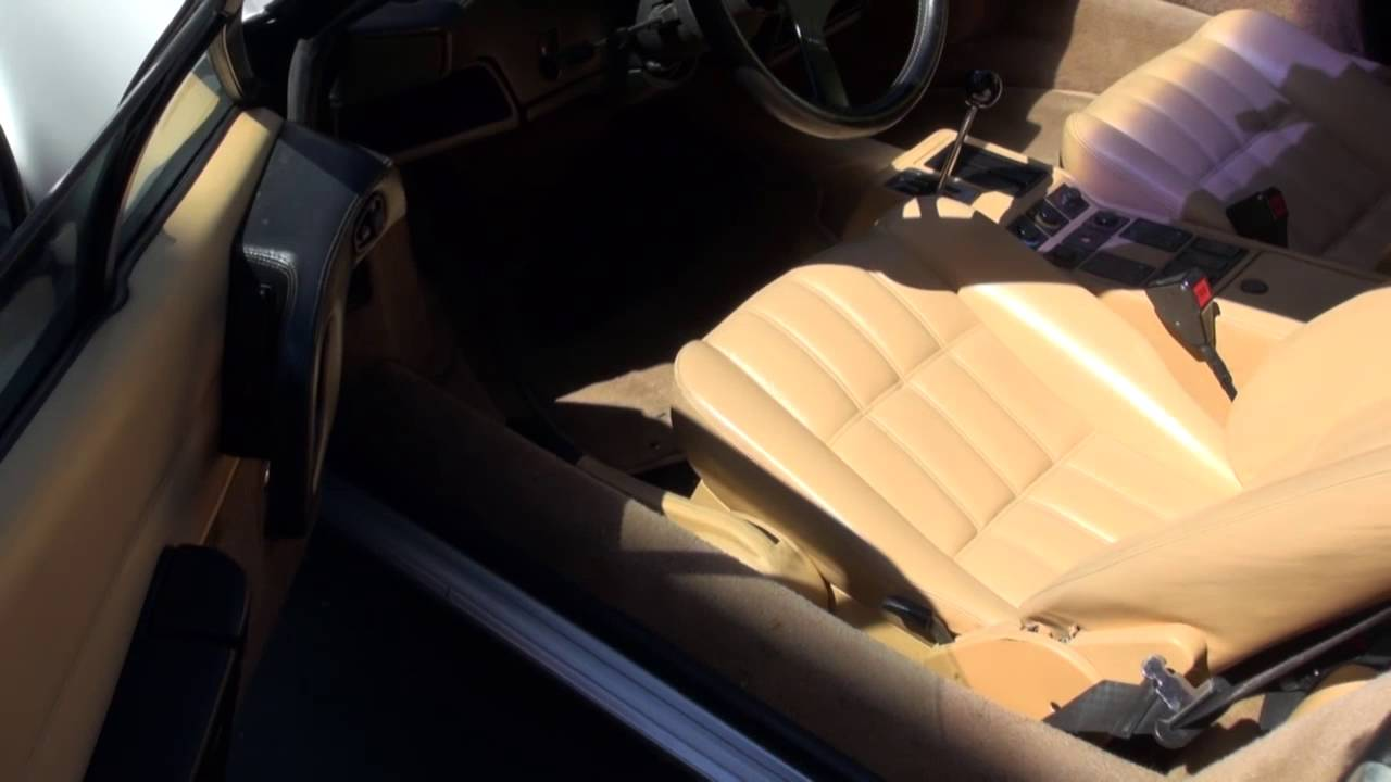 Ferrari 328 Interior Restoration By Cooks Upholstery Redwood City