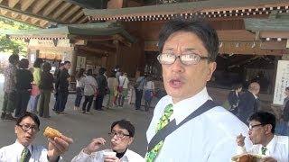 しじみ汁とカツカレー@ 出雲大社&宍道湖 / Trip to Izumo Taisha.