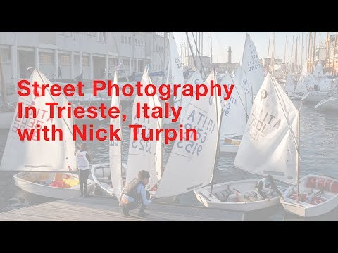 Street Photography in Trieste, Italy with Nick Turpin