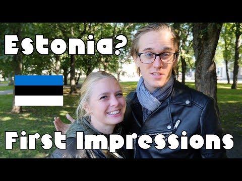 Estonia?! Our First Impressions (plus amazing food)