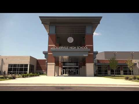 Tour of the new Collierville High School