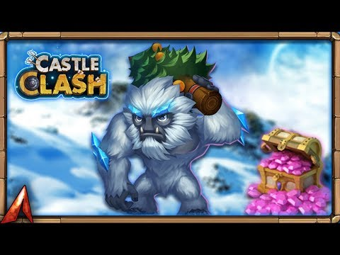 Rolling For New Hero Sasquatch! Castle Clash