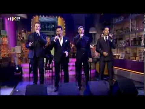 Il divo can you feel the love tonight interview rtl4 - Il divo man you love ...