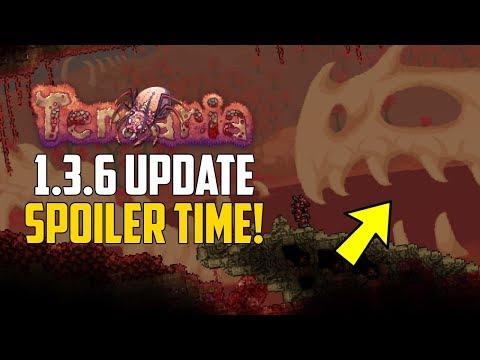 Terraria 1.3.6 SPOILER TIME! | Crimson Update! | PC TERRARIA NEWS