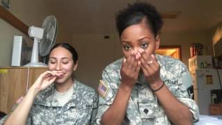 STORY TIMEEEEE | ARMY BASIC TRAINING PART 1