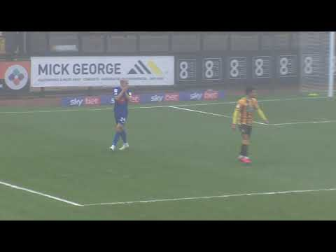 Cambridge Utd Harrogate Goals And Highlights