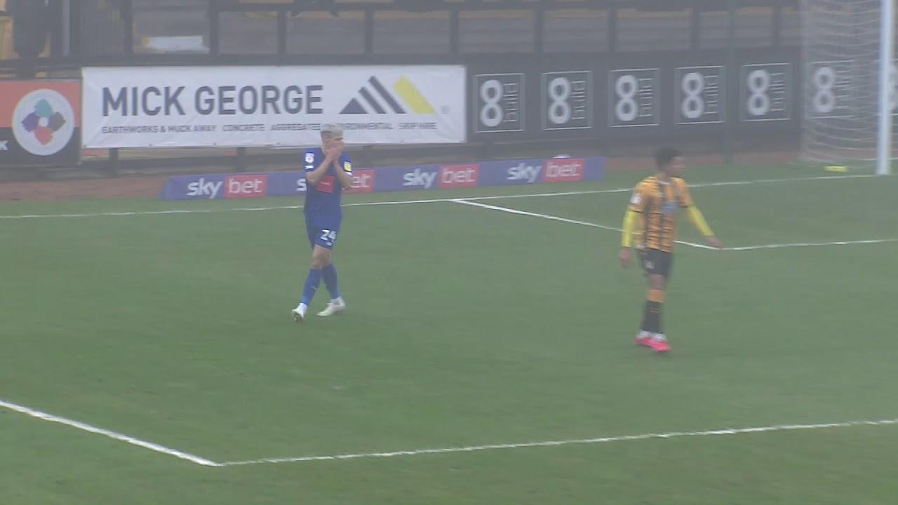 Кембридж Юнайтед  2-1  Харрогит Таун видео