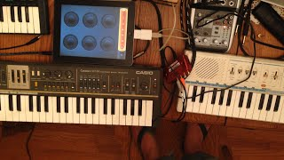 Loopy and 3 Vintage Casio Keyboards!