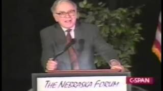 Warren Buffett on the Financial Future of America's Youth(Warren Buffet speaks at The Nebraska Forum for Nebraska Students on the future of America's Youth in 1999. Resources: The Snowball: Warren Buffett and the ..., 2016-03-02T01:01:48.000Z)