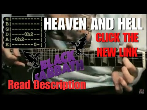 Heaven and Hell (Black Sabbath) - Video-Lesson part 1