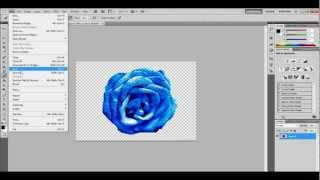 How To Save Picture As Transparent Without White Background