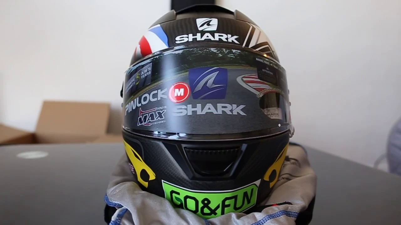 unboxing casque shark speed r 2 carbon replica redding gofun helmet youtube. Black Bedroom Furniture Sets. Home Design Ideas