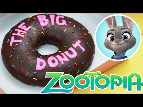 Get GIANT ZOOTOPIA DONUT! - NERDY NUMMIES - 'The Big Donut' Pictures
