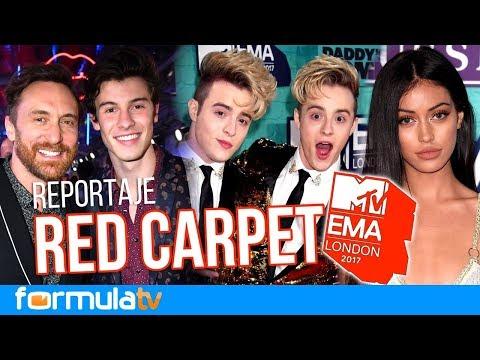 La alfombra roja de los MTV EMA 2017 con Shawn Mendes, C Tangana, Cindy Kimberly y Lali Espósito