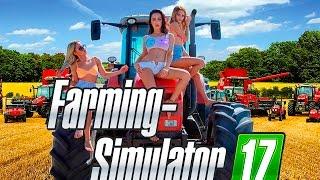 Обзор Farming Simulator 17 | Ехал трактор по лугам, по ботинкам, по ногам |  Первый взгляд