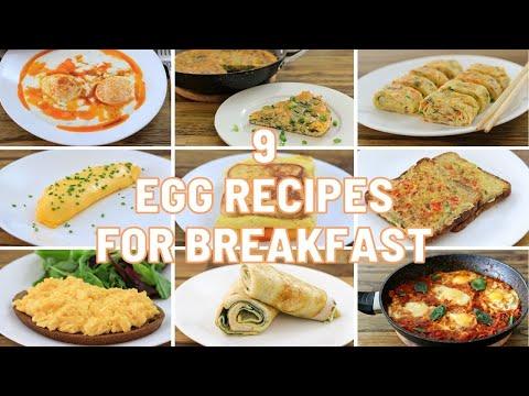 9 Egg Recipes for Breakfast