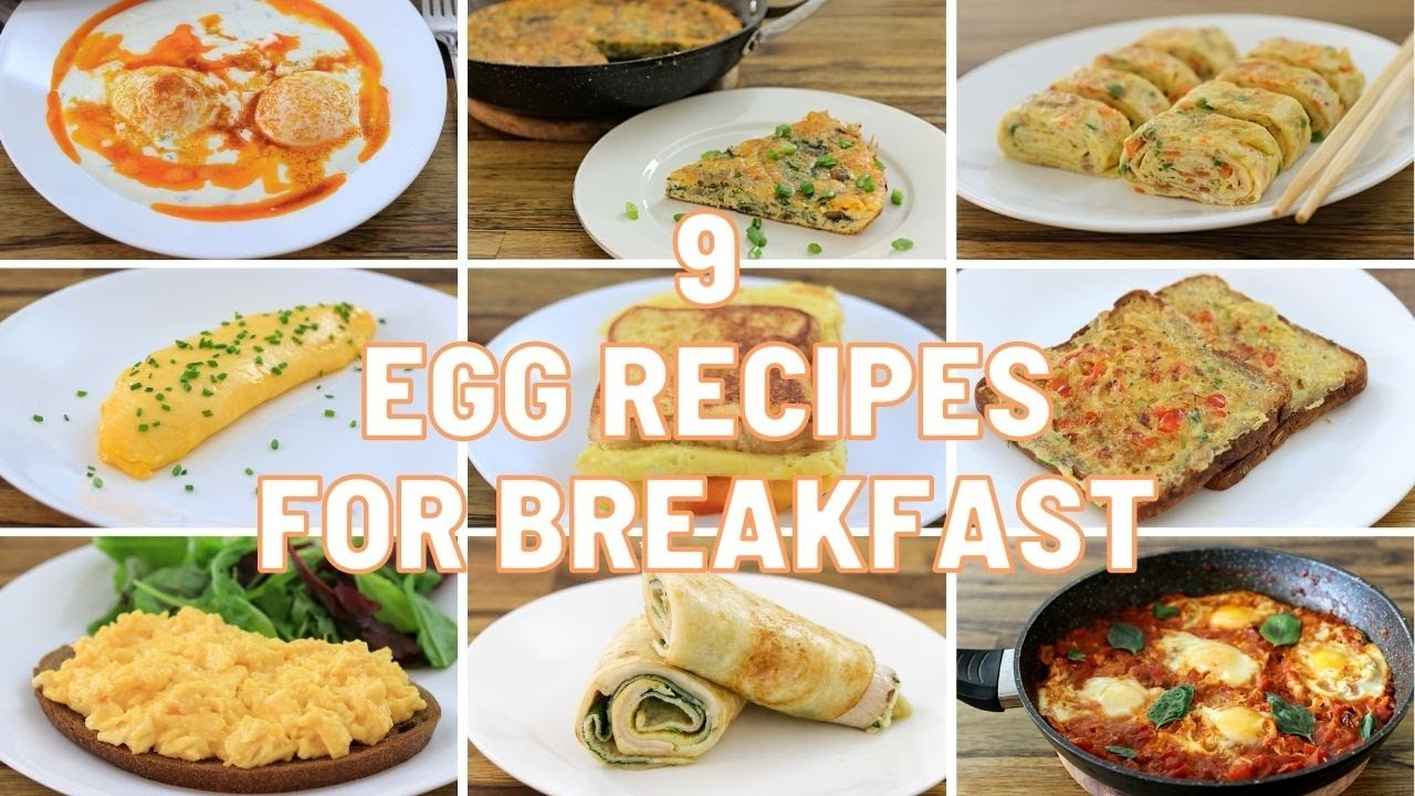 Download 9 Egg Recipes for Breakfast