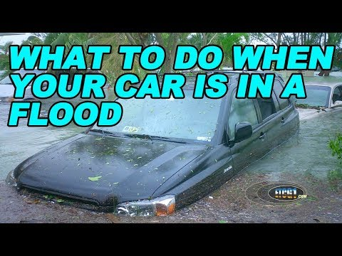What To Do When Your Car is in a Flood