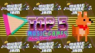 Top 5 Free Music Games // Music Game Jam 2018